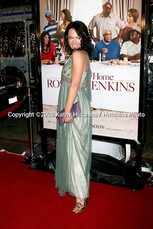 "Erin Cummings.""Welcome Home Roscoe Jenkins"" World Premiere.Grauman's Chinese Theater.Los Angeles, CA.January 28, 2008.©2008 Kathy Hutchins / Hutchins Photo...."