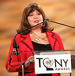 Charlotte St. Martin.announcing the 2012 Tony Award Nominations at Lincoln Center on 5/1/2012 in New York City. © Walter McBride / Retna Ltd.