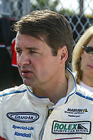 Scott Goodyear, Rolex 24 at Daytona, February 2003.  (Photo by Brian Cleary/bcpix.com)