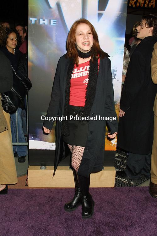 2003 KATHY HUTCHINS / HUTCHINS PHOTO.Warner Brother TV Winter Television Critics Association.PARTY.JANAUARY 11, 2003.HOLLYWOOD, CA..LYNSEY BARTILSON