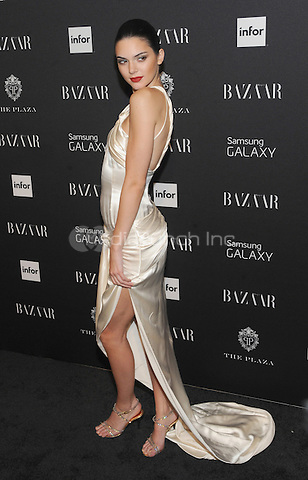 New York, NY-September 5: Kendall Jenner attends Harper's Baazar Celebrates Icons By Carine Roitfeld on September 5, 2014 at the Plaza Hotel in New York City. Credit: John Palmer/MediaPunch