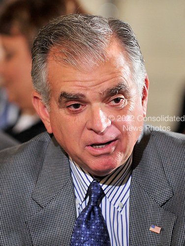 United States Secretary of Transportation Ray LaHood arrives for the announcement where U.S. President Barack Obama accepted Chief of Staff Rahm Emanuel's resignation as a prelude for a run for Mayor of Chicago in the East Room of the White House in Washington, D.C. on Friday, October 1, 2010.  He will be replaced by Senior Advisor Pete Rouse..Credit: Ron Sachs / Pool via CNP