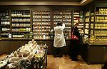 PARIS - FRANCE - 15 APRIL 2004--The fine food shop Fauchon at Place de la Madeleine. The department for spices-- PHOTO: ERIK LUNTANG / EUP-IMAGES