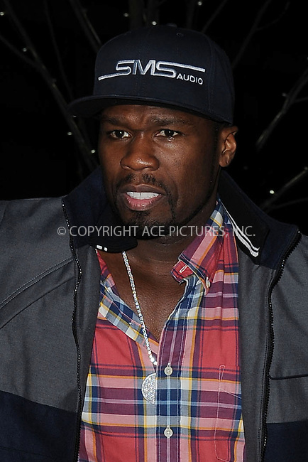 "WWW.ACEPIXS.COM . . . . . .April 15, 2013...New York City....Curtis ""50 Cent"" Jackson attends a screening of 'Pain and Gain' held at Crosby Street Hotel on April 15, 2013  in New York City. ....Please byline: KRISTIN CALLAHAN - WWW.ACEPIXS.COM.. . . . . . ..Ace Pictures, Inc: ..tel: (212) 243 8787 or (646) 769 0430..e-mail: info@acepixs.com..web: http://www.acepixs.com ."