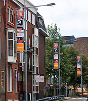 15-sept.-2013,Netherlands, Groningen,  Martini Plaza, Tennis, DavisCup Netherlands-Austria, Banners in town<br /> Photo: Henk Koster