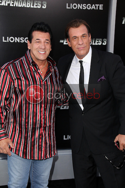 Chuck Zito, Robert Davi<br />