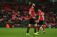 Charlie Austin of Southampton rues a missed chance during Tottenham Hotspur vs Southampton, Premier League Football at Wembley Stadium on 5th December 2018