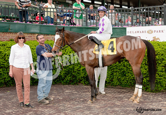 Reel Victory winning before being disqualified at Delaware Park on 5/27/13.
