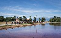 The peloton is nearing the Dolemites<br /> <br /> Stage 15: Valdengo &rsaquo; Bergamo (199km)<br /> 100th Giro d'Italia 2017