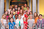 Girls Basketball.----------------.Celebrating their success at the Imperial Hotel Tralee last Friday night were Imperials Girl basketball club U12 team at the end of season prize giving.   Copyright Kerry's Eye 2008