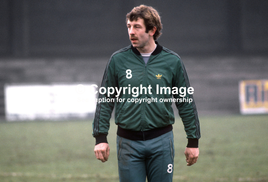Gerry Armstrong, Watford &amp; N Ireland, during training session at St Albans prior to their fixture against England at Wembley. 19820223014GA<br />