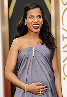 HOLLYWOOD, CA - MARCH 2: Kerry Washington arriving to the 2014 Oscars at the Hollywood and Highland Center in Hollywood, California. March 2, 2014. Credit: SP1/Starlitepics. /NORTePHOTO
