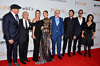 Tamer Hassan, Eric Esrailian, Charlotte Le Bon, Angela Sarafyan, Terry George, Chris Cornell, Christian Bale &amp; Shohreh Aghdashloo at the premiere for &quot;The Promise&quot; at the TCL Chinese Theatre, Hollywood. Los Angeles, USA 12 April  2017<br /> Picture: Paul Smith/Featureflash/SilverHub 0208 004 5359 sales@silverhubmedia.com