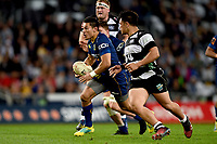 Sio Tomkinson of Otago in action during the 2018 Mitre 10 Cup Championship rugby semifinal between Canterbury and Counties Manukau at Forsyth Barr Stadium in Dunedin, New Zealand on Saturday, 20 October 2018. Photo: Joe Allison / lintottphoto.co.nz