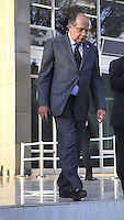BRASILIA,DF, 05.09.2013 - ENCERRAMENTO JULGAMENTO -  O ministro Gilmar Mendes deixa o Supremo Tribunal Federal, apos encerramento do julgamento do Mensalao em Brasilia nesta quinta-feira, 05. (Foto: Renato Araujo / Brazil Photo Pres).