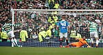 15.04.2018 Celtic v Rangers scottish cup SF:<br /> Moussa Dembele scores penalty
