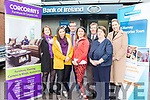 The Bank of Ireland Killarney  Enterprise town committee l-r:Tracy Healy, Mary Brosnan, Hugh Gleeson, Ruth Allen, Sean O'Keeffe Bernadete Randles, Deirdre