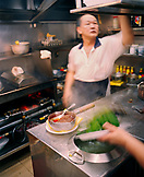 SINGAPORE, Asia, chef working at the Newton Food Court kitchen