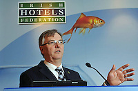 IHF- REPRO FREE HOTELIERS CONFERENCE KILLARNEY: .Tim Fenn, IHF CEO,  pictured at the IHF conference in The Malton Hotel, Killarney on Monday..Picture by Don MacMonagle...PR photo IHF