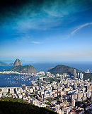 BRAZIL, Rio de Janiero, an observatory of Sugarloaf Mountain, a peak located in Rio de Janeiro at the mouth of Guanabara Bay