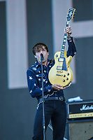 Dirty Nil performs on the main stage of the Festival d'ete de Quebec (FEQ) in Quebec city Thursday July 13, 2017.