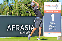 Laurie Canter (ENG) during previews for the Afrasia Bank Mauritius Open played at Heritage Golf Club, Domaine Bel Ombre, Mauritius. 29/11/2017.<br /> Picture: Golffile | Phil Inglis<br /> <br /> <br /> All photo usage must carry mandatory copyright credit (&copy; Golffile | Phil Inglis)