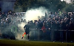 Smokebombs in the home end