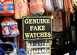 Truth in advertising of genuine fake watches