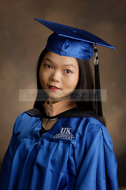 Hu, Ruijun photographed during the Feb/Mar, 2013, Grad Salute in Lexington, Ky.
