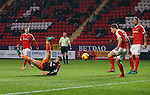 Sheffield United's Billy Sharp tries and overhead kick during the League One match at the Valley Stadium, London. Picture date: November 26th, 2016. Pic David Klein/Sportimage