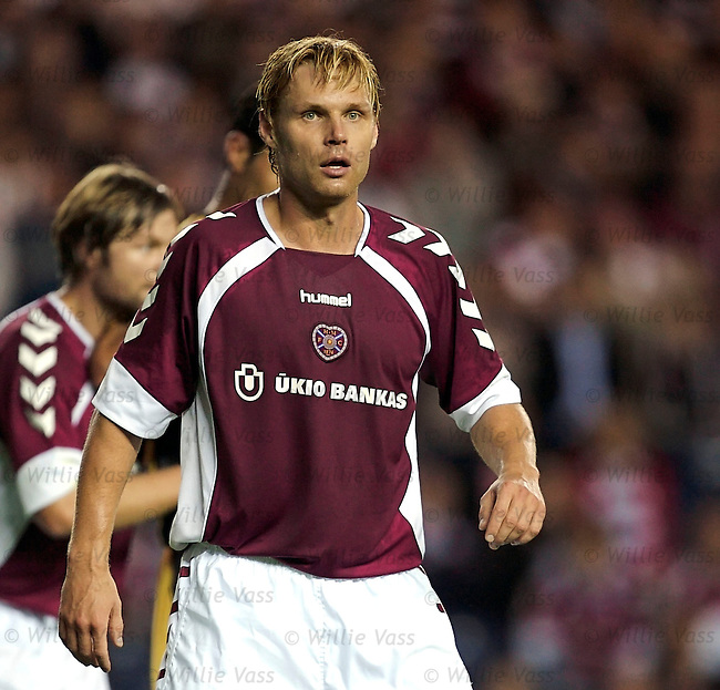 Edgaras Jankauskas, Hearts.stock season 2006-2007.pic willie vass