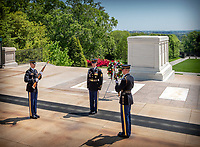 Changing of the Guard Tomb of the Unknown Soldier Arlington National Cemetery