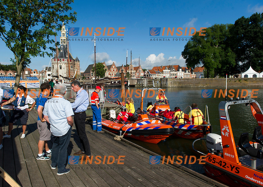 Venue<br /> Hoorn, Netherlands <br /> LEN 2016 European Open Water Swimming Championships <br /> Open Water Swimming<br /> Women's 5km<br /> Day 02 12-07-2016<br /> Photo Giorgio Perottino/Deepbluemedia/Insidefoto