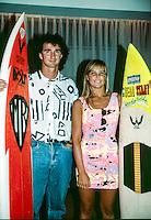 Mark Richards (AUS) and Wendy Botha (ZAF) Sydney Australia 1990. Photo: joliphotos.com