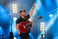 NASHVILLE, TENNESSEE - JUNE 08: Luke Combs performs onstage during day 3 of the 2019 CMA Music Festival on June 8, 2019 in Nashville, Tennessee. <br /> CAP/MPI/IS/AW<br /> ©MPIIS/AW/Capital Pictures