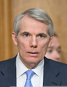 """United States Senator Rob Portman (Republican of Ohio) listens as John Koskinen, Commissioner, Internal Revenue Service, testifies before the United States Senate Committee on Finance on """"IRS Operations and the President's Budget for Fiscal Year 2016"""" in Washington, D.C. on Tuesday, February 3, 2015.  During his testimony, Koskinen said """"In regard to software, we still have applications that were running when John F. Kennedy was President.""""<br /> Credit: Ron Sachs / CNP"""