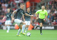Burnley's Jeff Hendrick<br /> <br /> Photographer Kevin Barnes/CameraSport<br /> <br /> The Premier League - Southampton v Burnley - Sunday August 12th 2018 - St Mary's Stadium - Southampton<br /> <br /> World Copyright &copy; 2018 CameraSport. All rights reserved. 43 Linden Ave. Countesthorpe. Leicester. England. LE8 5PG - Tel: +44 (0) 116 277 4147 - admin@camerasport.com - www.camerasport.com
