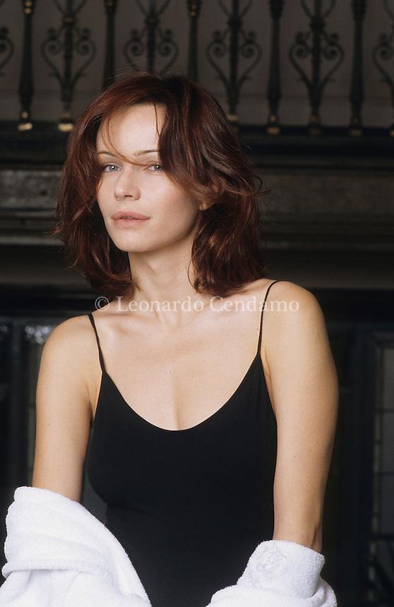 Francesca Neri, attrice, produttrice, milano 2000-  © Leonardo Cendamo