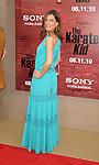 """WESTWOOD, CA. - June 07: Perrey Reeves arrives at """"The Karate Kid"""" Los Angeles Premiere at Mann Village Theatre on June 7, 2010 in Westwood, California."""