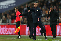 Manchester City Manager Josep Guardiola during Tottenham Hotspur vs Manchester City, Premier League Football at Wembley Stadium on 29th October 2018