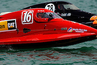 26  July, 2009, Trenton, Michigan USA.Chris Whensler (#16) and Butch Ott (#78).©2009 F.Peirce Williams USA.SST-45 class