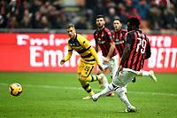gol Frank Kessie Goal Milan penalty 2-1 <br /> Milano 2-12-2018 Stadio San Siro Football Calcio Serie A 2018/2019 AC Milan - Parma Foto Image Sport / Insidefoto