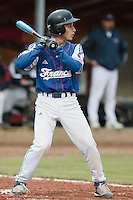 17 August 2010: Matt Lapinski of Team France is seen at bat during the Czech Republic 4-3 win over France, at the 2010 European Championship, under 21, in Brno, Czech Republic.