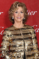 PALM SPRINGS, CA - JANUARY 04: Jane Fonda arriving at the 25th Annual Palm Springs International Film Festival Awards Gala held at Palm Springs Convention Center on January 4, 2014 in Palm Springs, California. (Photo by Xavier Collin/Celebrity Monitor)