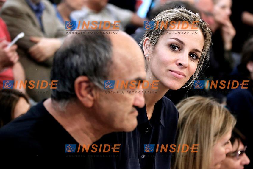 Alejandra Silva, compagna di Richard Gere<br /> Alejandra Silva Richard Gere's girlfriend<br /> Roma 09-06-2016 Mensa della Comunita' di Sant'Egidio. Presentazione del film 'Gli invisibili' e del progetto #homelesszero.<br /> Presentation of the film 'Time Out Of Mind' and of the project #homelesszero<br /> Photo Samantha Zucchi Insidefoto