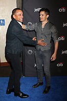 "LOS ANGELES - MAR 22:  Hill Harper, Nicholas Gonzalez at the 2018 PaleyFest Los Angeles - ""The Good Doctor"" at Dolby Theater on March 22, 2018 in Los Angeles, CA"