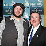 Daniel Everidge and Producer Terry Schnuck attending the Off-Broadway Opening Night Performance After Party for 'Falling' at Knickerbocker Bar & Grill on October 15, 2012 in New York City.