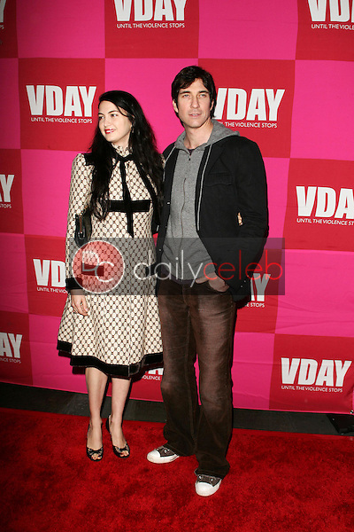 Shiva Rose McDermott and Dylan McDermott<br />