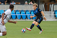San Jose, CA - Tuesday June 11, 2019: Florian Jungwirth #23 during the US Open Cup match between the San Jose Earthquakes and Sacramento Republic FC at Avaya Stadium.