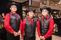 Daniel Delgabillo, Abe Moctezuma, Julian Tovar attend The Shops at Montebello Hispanic Heritage Month Event on October 10, 2015 (Photo by Alexander Plank/Guest of a Guest)